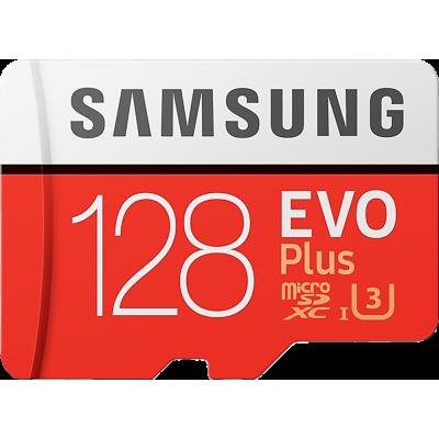 128GB Samsung Evo Plus MicroSD Hafıza Kartı