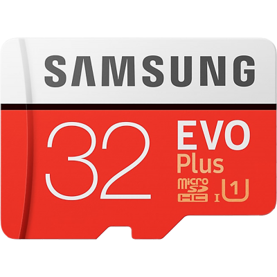 32GB Samsung Evo Plus MicroSD Hafıza Kartı