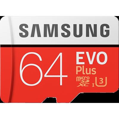64GB Samsung Evo Plus MicroSD Hafıza Kartı