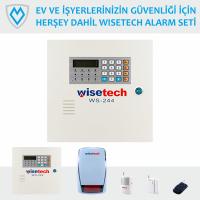 WS-244 Wisetech Kablosuz Alarm Seti