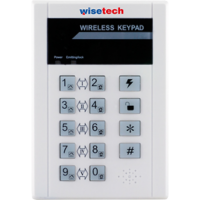 WS-310 Wisetech Kablosuz Keypad