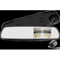 """MK-415R 5"""" (inch) Çift Kameralı Kayıt Özellikli Dikiz Monitörlü Geri Görüş Kamera Seti"""