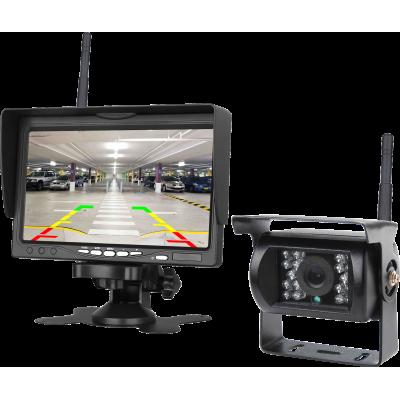 MK-M500W 7 Inch Monitörlü Kablosuz Geri Görüş Araç Kamera Seti