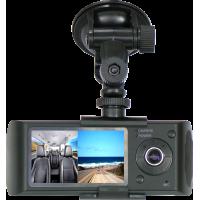 MK-300 Çift Kameralı GPS Özellikli Araç Kayıt Cihazı