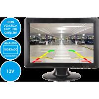 MK-M1250 HDMI/VGA/RCA/BNC Video Girişli 12 inch Monitör