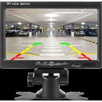 MK-M700 HDMI/VGA/RCA Video Girişli 7 Inch Araç Monitorü