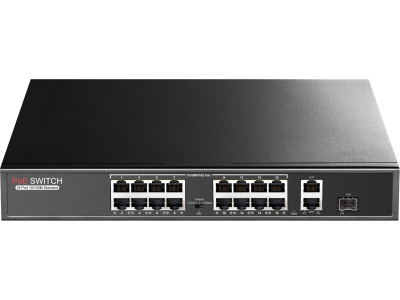 PR-P16MX Promes 16+2 Port PoE Switch + 1 SFP Port