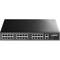 PR-P24MX Promes 24+2 Port PoE Switch + 1 SFP Port