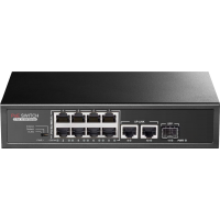 PR-P08MX Promes 8+2 Port PoE Switch + 1 SFP Port